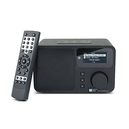 Ocean Digital Wifi Internet Radio Wlan Wireless Multimedia Speaker Music Media Player Portable Home Use Alarm Colck Black