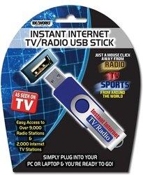 Ideaworks Internet TV Radio USB Stick