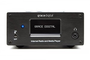 Grace Digital GDI-IRMSamp Microsystem Internet Radio Receiver and Amplifier (Black)