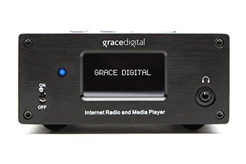 Grace Digital GDI-IRMSamp Microsystem Internet Radio Receiver and Amplifier (Black)