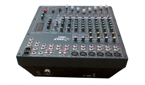 Pyle-Pro PMX1205 12 Channel Digital DSP Console Mixer With Built-in Sound Effects