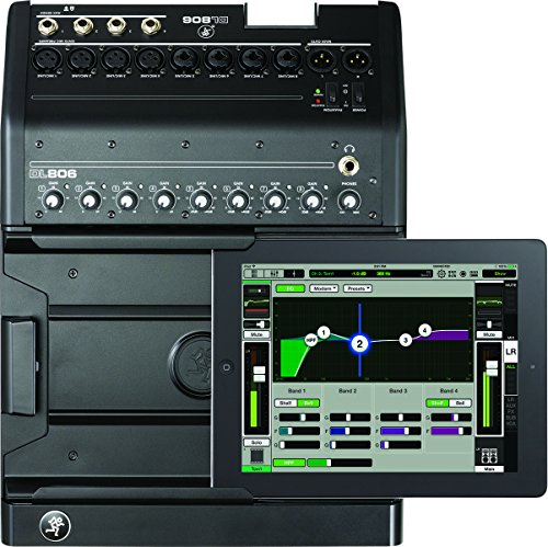Mackie DL DL806 8-Channel Digital Live Sound Mixer with Apple Lightning Connector