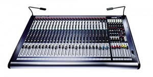 Soundcraft GB4 24 Console with 24-Channel Mixer