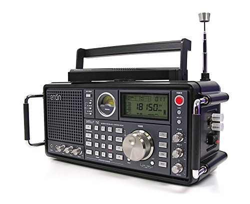 Eton Grundig Satellit 750 Ultimate AM/FM Stereo also Receives Shortwave, Longwave and Aircraft Bands - Black (NGSAT750B)