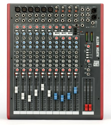 Allen & Heath ZED-14 14-Channel Mixer with USB Interface