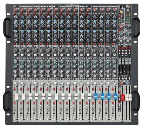 Crest Audio X20R X 20R X-Series Live Sound Professional Rack Mount 16 Input Mixer Console With Four-Band EQ on All Inputs