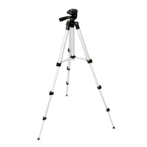 Pyle PRJTPS25 Universal Lightweight Portable Aluminum Travel Tripod Stand / Holder for Cameras, Digital Cameras, Video Cameras, etc.