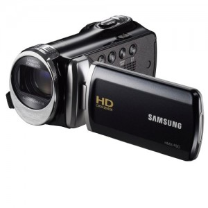 """Samsung F90 Black Camcorder with 2.7"""" LCD Screen and HD Video Recording"""