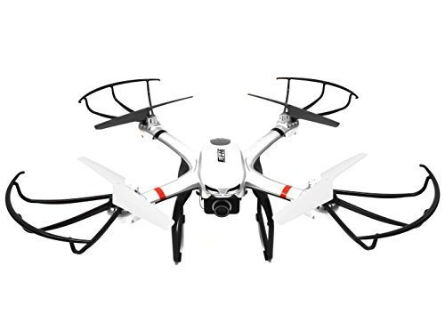 GoPro Ready Drone, Ei-Hi S900R 2.4G Headless RTF Quadcopter Drone with 720P HD FPV Camera (Silver)