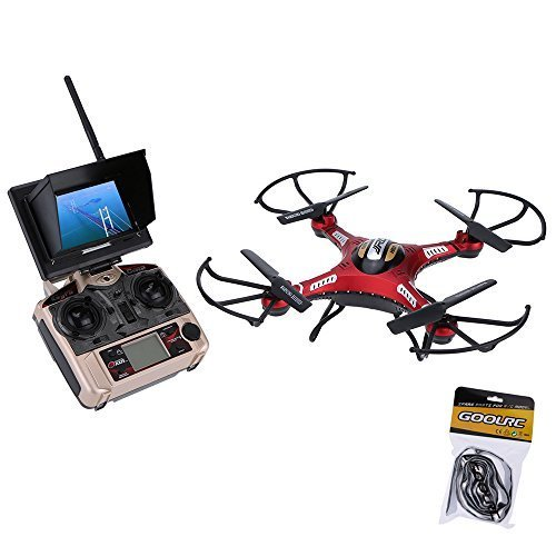 Original JJRC H8D 5.8G FPV RTF RC Quadcopter Headless Mode/One Key Return Drone with 2.0MP Camera FPV Monitor LCD