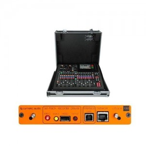 Behringer X32-TP Compact 40-Input Digital Mixing Console - Bundle with Cymatic Audio uTrack-X32 32-Channel Recorder