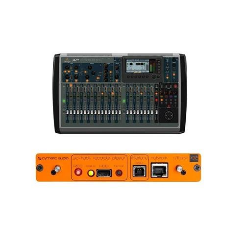 Behringer X32 32-Channel 16-Bus Total Recall Digital Mixing Console - Bundle With Cymatic Audio uTrack-X32 32-Channel Recorder,